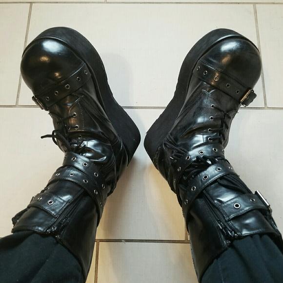 972bddf260d Demonia Other - Mens Demonia Trashville Platform Boots